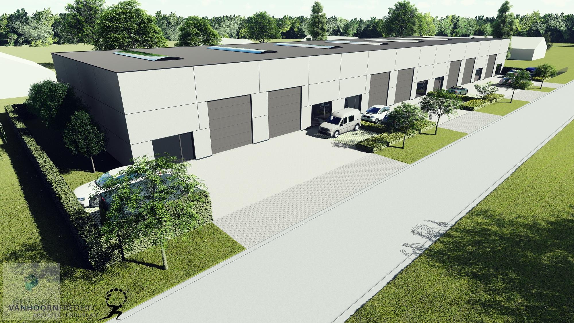 Nieuwbouw bedrijfspanden industriepark Beernem - 6