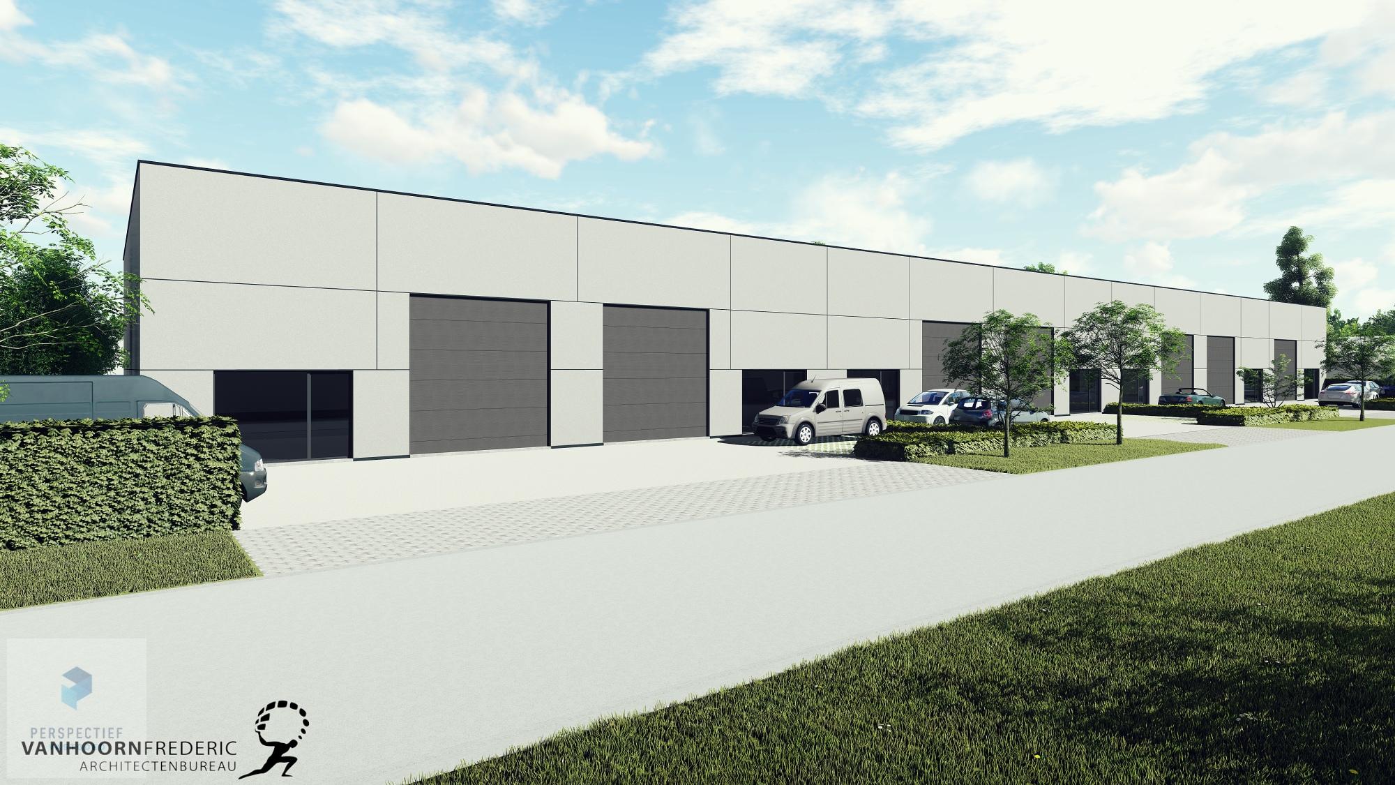 Nieuwbouw bedrijfspanden industriepark Beernem - 12