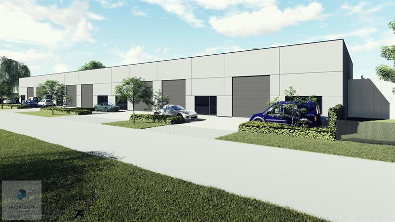 Nieuwbouw bedrijfspanden industriepark Beernem - 14