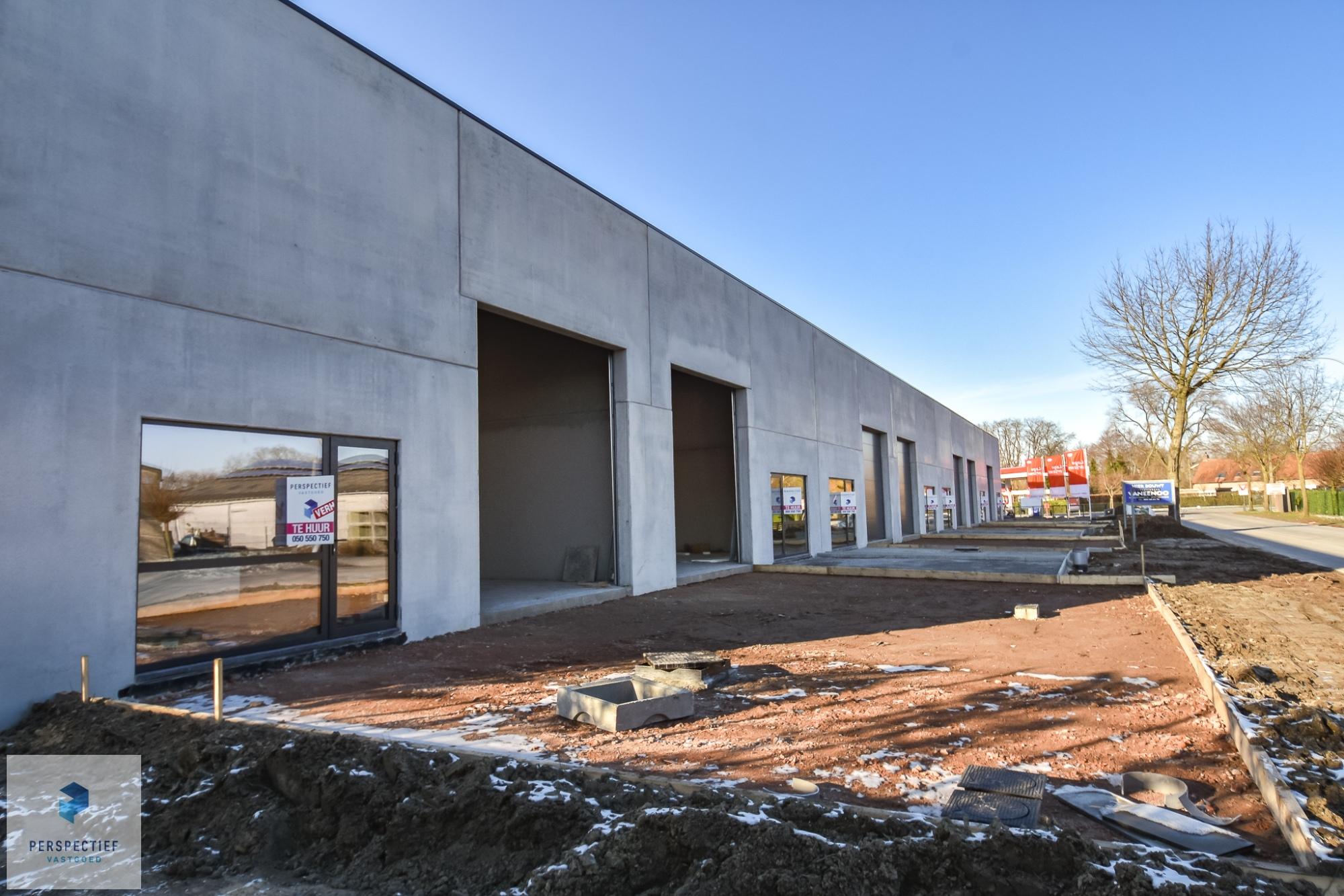 Nieuwbouw bedrijfspanden industriepark Beernem - 1
