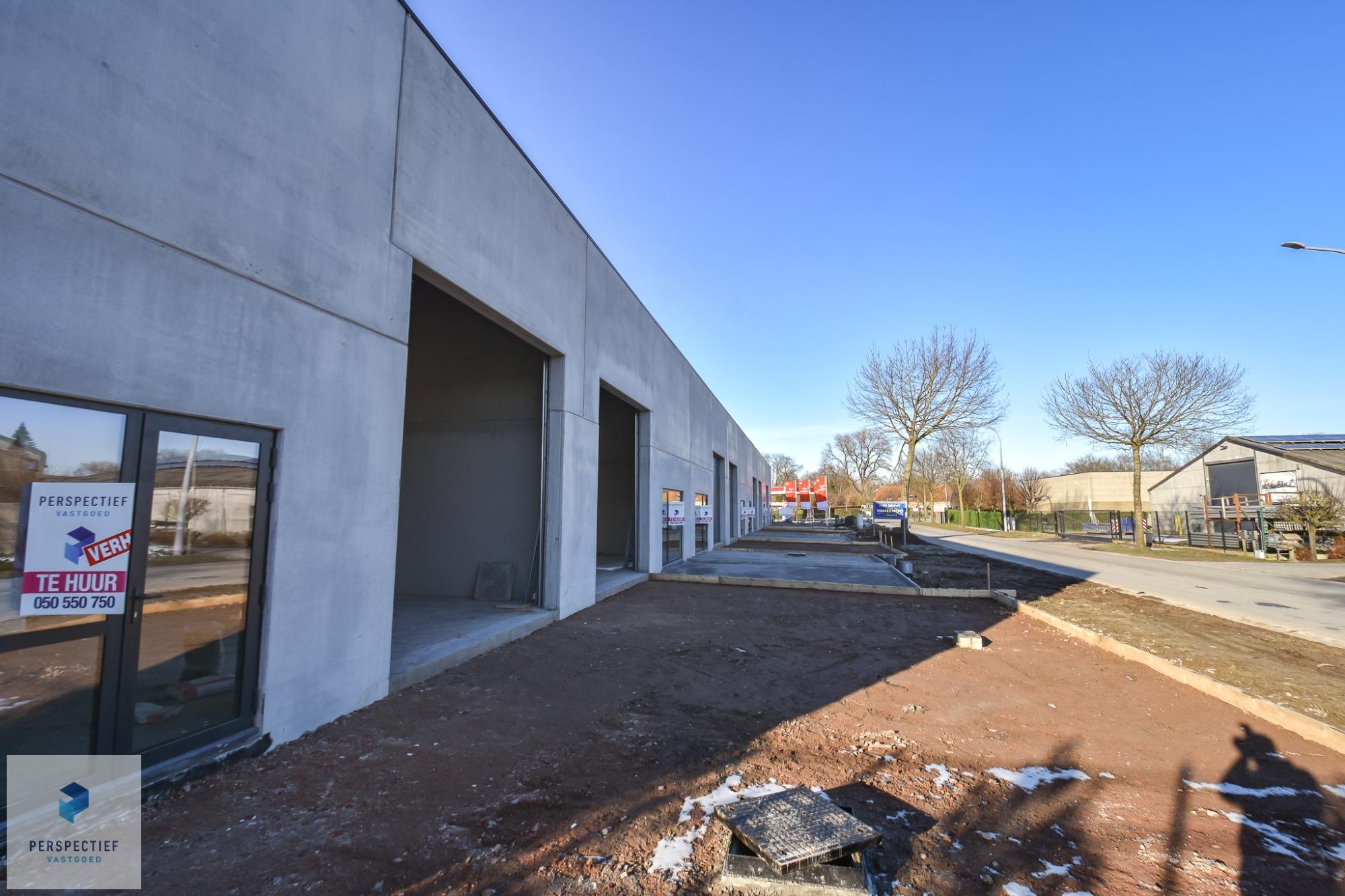 Nieuwbouw bedrijfspanden industriepark Beernem - 5