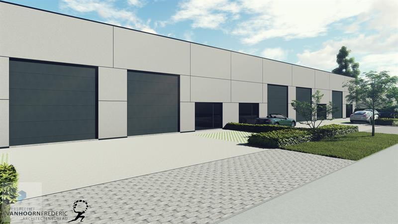 Nieuwbouw bedrijfspanden industriepark Beernem